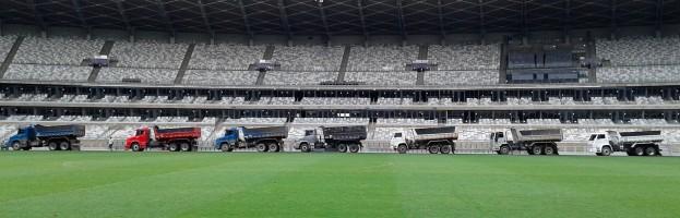 Terraplenagem – Estádio Mineirão